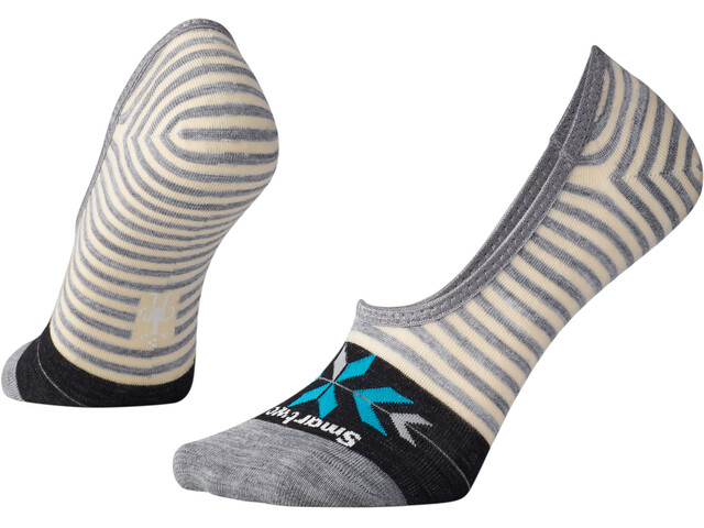 Smartwool Ouray Arrow Hide and Seek - Chaussettes Femme - beige/gris